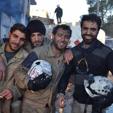 هكذا يبدو متطوعينا بعد إستجابتهم للقصف