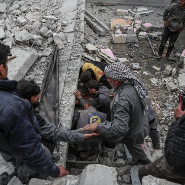 بيان الدفاع المدني بخصوص التطورات الأخيرة بالغوطة الشرقية