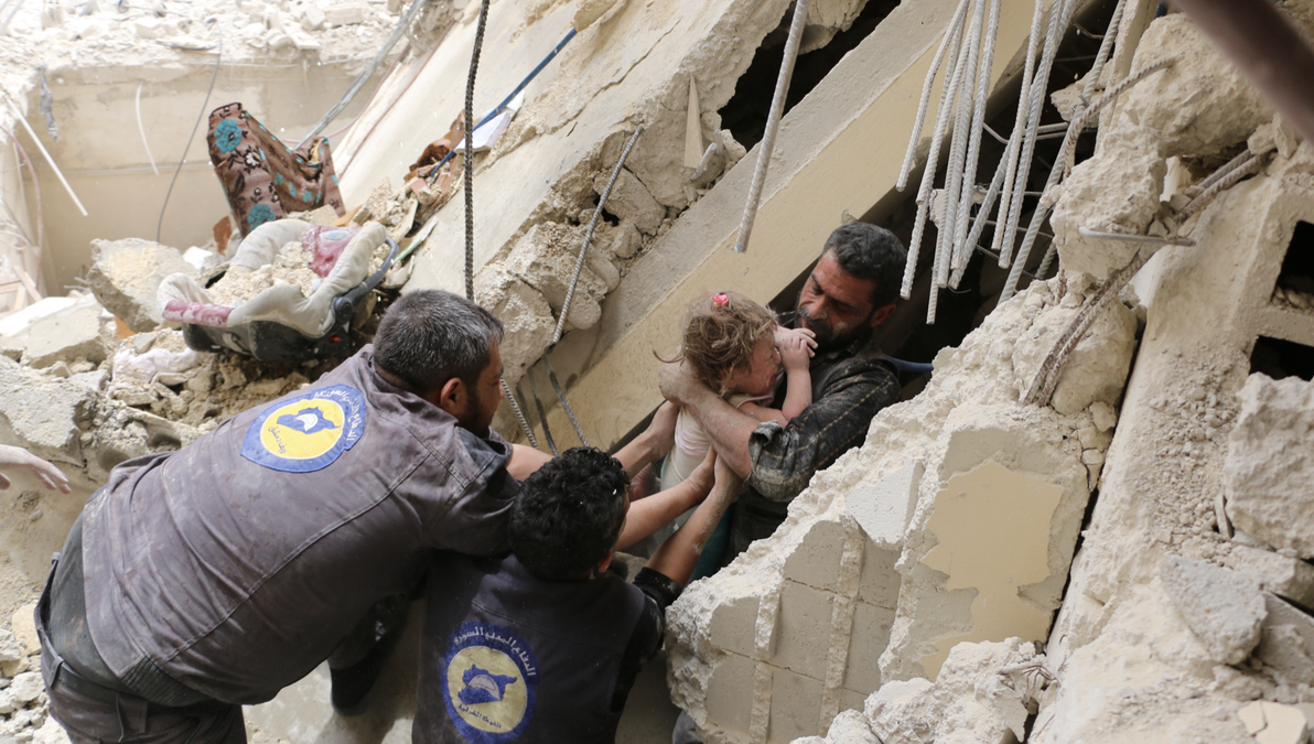 Rescue in Idlib