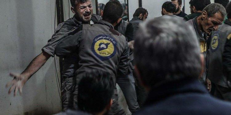 Targeting of volunteers in Ghouta